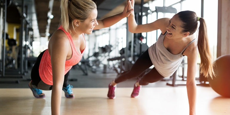 fit girls working out #gym #fitness #sharknuritions